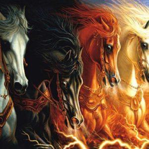 chevaux ésotériques