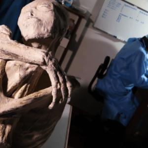 Nazca momie