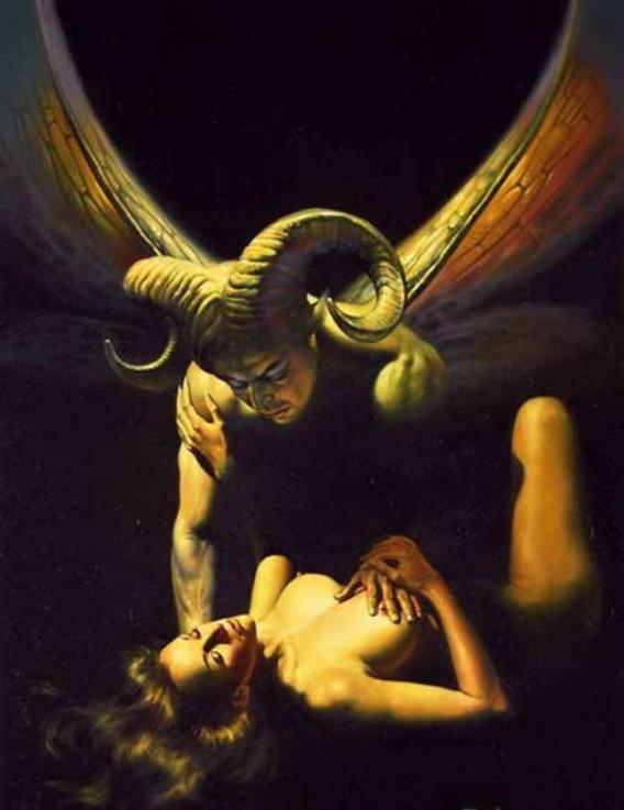 incube et déesse